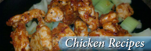 Chicken recipes header image